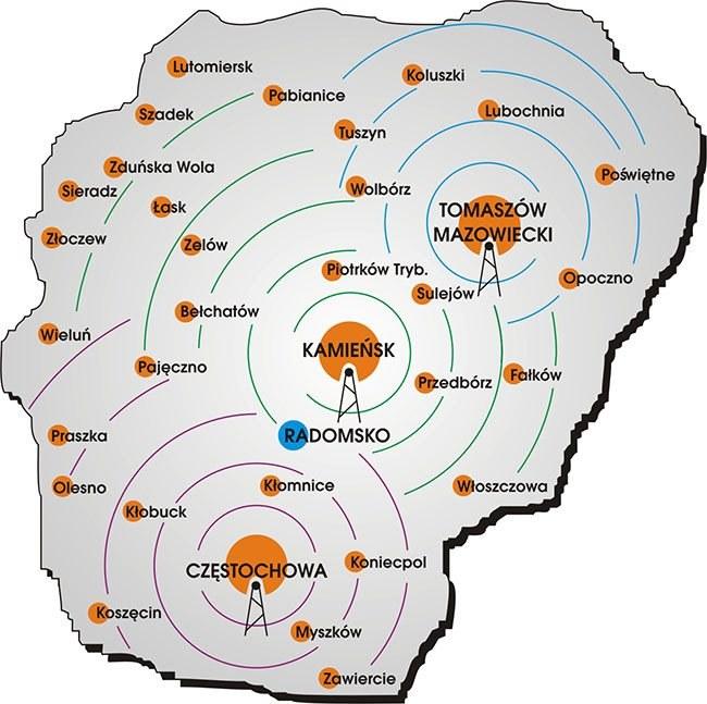 Półka NTL Radomsko rozpoczyna od 19 grudnia 2013 roku nadawanie za pośrednictwem lokalnego multipleksu cyfrowego /SatKurier