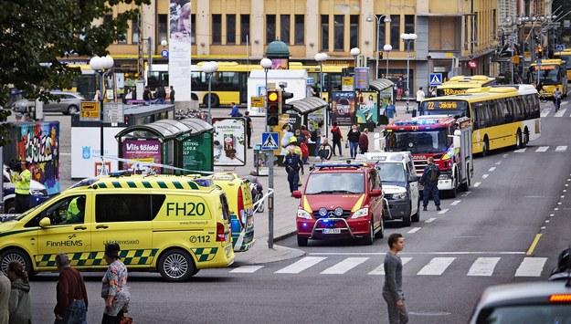 Polka z Turku o ataku: Finowie nie panikują, złapali dzieci za ręce i poszli do samochodów