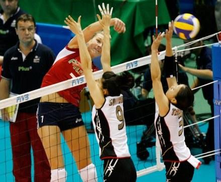 Polki przegrały z Włoszkami /AFP