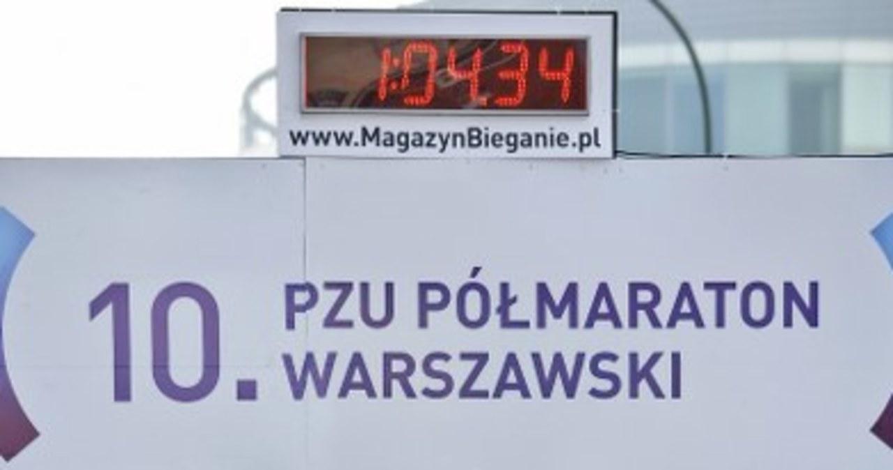 Półmaraton w Warszawie