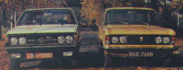 Polonez kontra Polski Fiat 125p /Motor