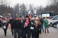 Polscy kibice na PŚ w skokach narciarskich w Zakopanem
