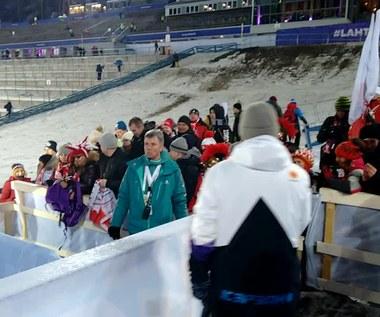 Polscy kibice świętują ze skoczkami złoto MŚ w Lahti