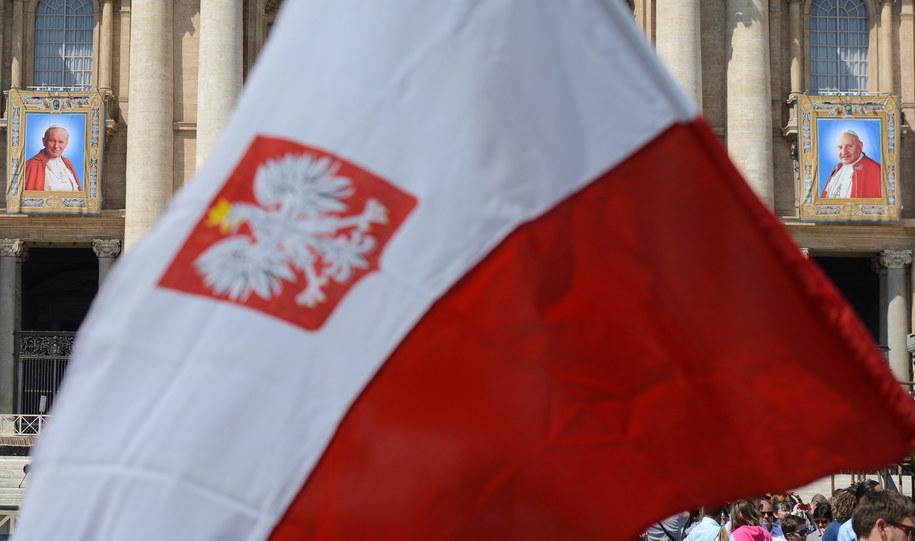 Polscy pielgrzymi w Watykanie /Radek Pietruszka /PAP