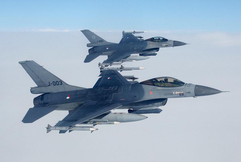 Polscy piloci przejęli dyżur od holenderskich kolegów /Bartek Bera /INTERIA.PL
