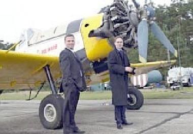 Polscy piloci ruszyli na pomoc Afryce /RMF