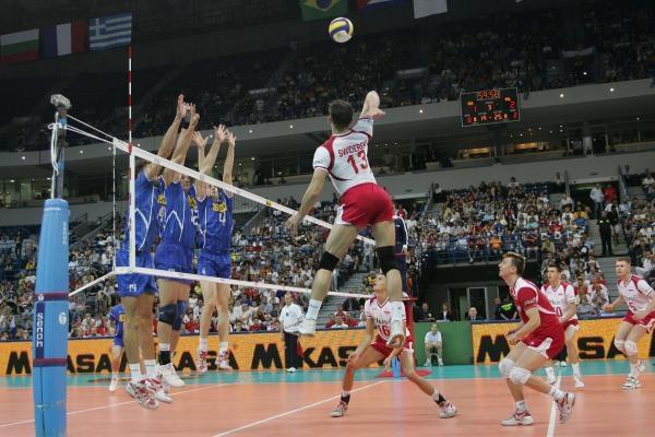 Polscy siatkarze byli o krok od awansu do wielkiego finału Ligi Światowej /www.fivb.org