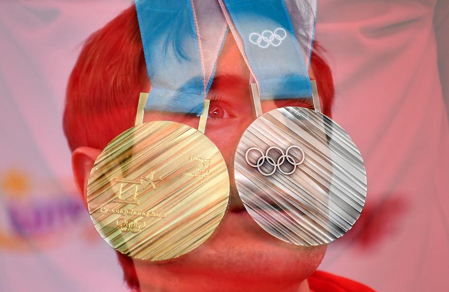 Polscy skoczkowie narciarscy, którzy na igrzyskach olimpijskich w Pjongczangu zdobyli dwa medale /Bartłomiej  Zborowski /PAP