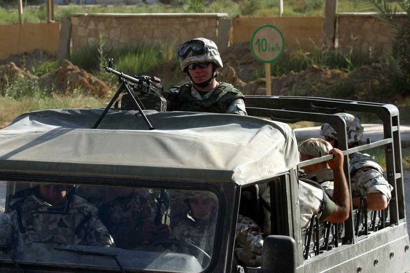 Polscy żołnierze w Iraku /East News