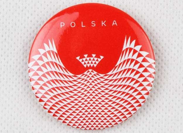 Polska nowoczesna, Przypinki /materiały prasowe