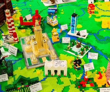 Polska oczami dzieci - mapa Polski z LEGO