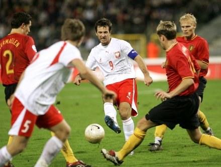 Polska pokonała w Brukseli Belgię 1:0 /AFP