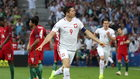 Polska - Portugalia 1:1! Zobaczcie piękne bramki Lewandowskiego i Sanchesa!