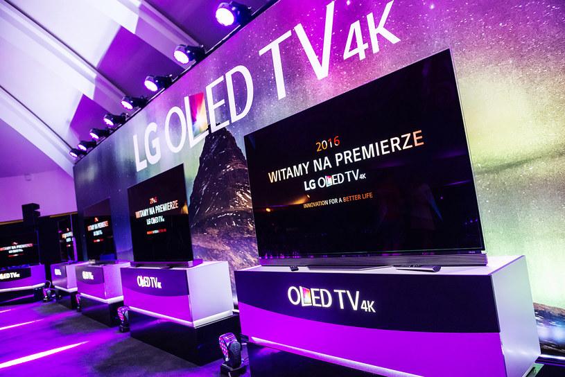 Polska premiera LG OLED TV 4K /materiały prasowe