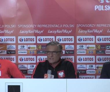Polska - Serbia. Adam Nawałka przed meczem. Wideo