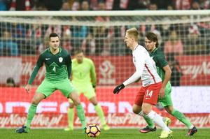 """Polska - Słowenia 1-1. Oceny """"Biało-czerwonych"""""""