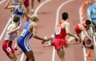 Polska sztafeta 4x400 m została zdyskwalifikowana /AFP