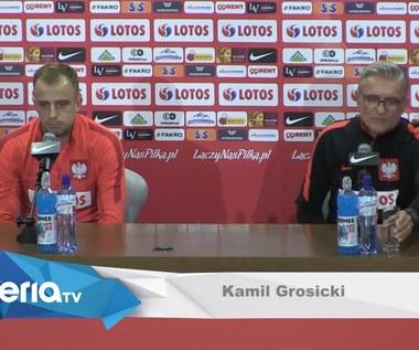Polska - Urugwaj. Kamil Grosicki przed meczem. Wideo