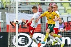 Polska vs Litwa w obiektywie