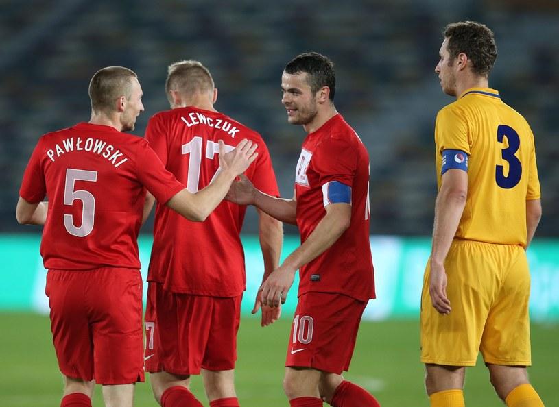 Polska wygrała z Mołdawią 1-0 po bramce Pawła Brożka /PAP/EPA