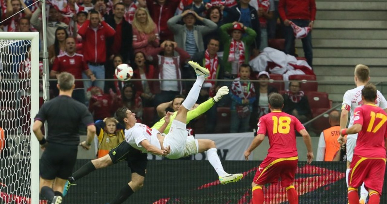Polska zremisowała z Czarnogórą 1:1