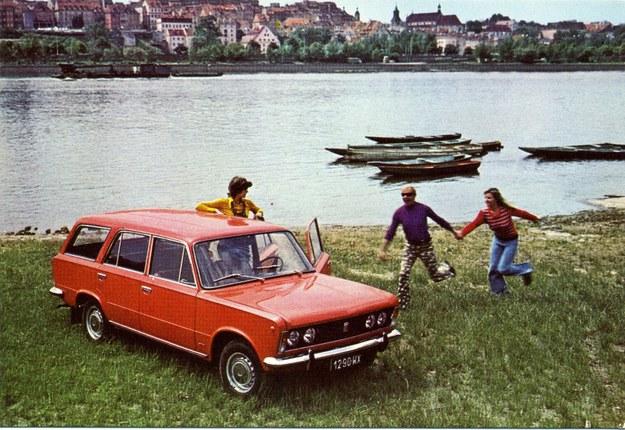 Polski Fiat 125p w wersji kombi /Archiwum Tomasza Szczerbickiego