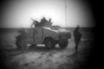Polski nocny patrol w Afganistanie/Fot. M. Niwicz /Agencja SE/East News