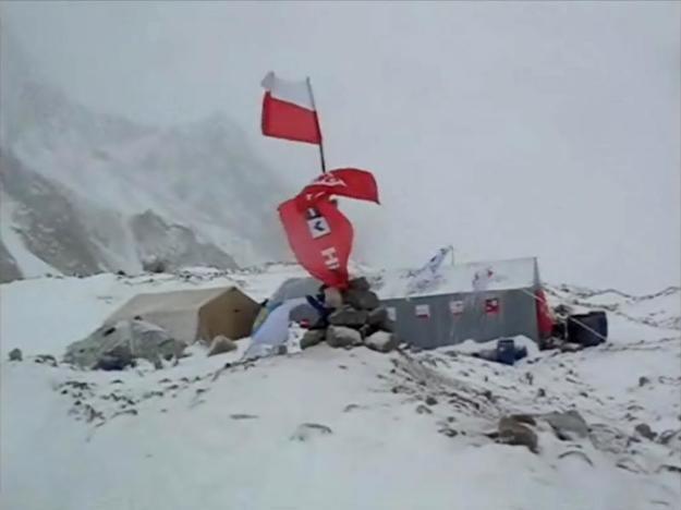 Polski obóz pod Broad Peak /Polski Himalaizm Zimowy /