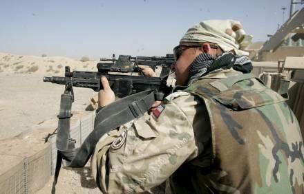 Polski żołnierz w Afganistanie / fot. M. Niwicz /Agencja SE/East News