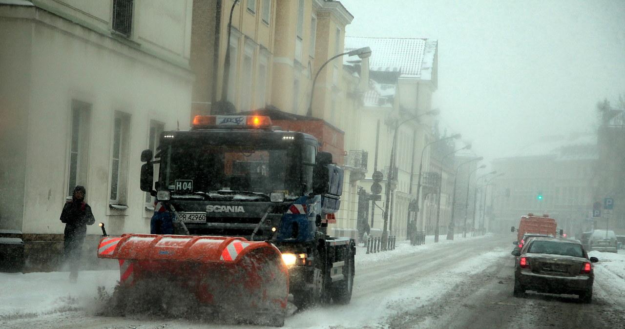 Polskie drogi pod śniegiem