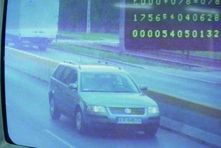 Polskie fotoradary reagują tylko na prędkość / Kliknij /RMF/INTERIA.PL