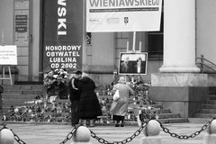 Polskie miasta w żałobie