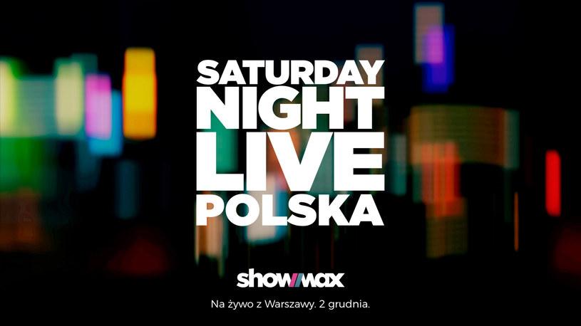 """Polskie """"Saturday Night Live"""" zadebiutuje 2 grudnia /Showmax /materiały prasowe"""