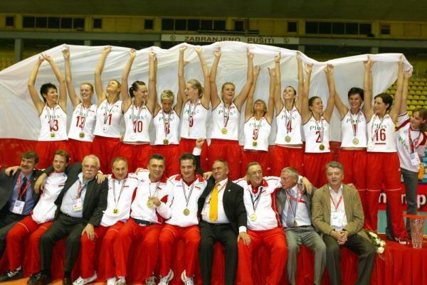 Polskie siatkarki na najwyższym stopniu podium ME /www.cev.lu