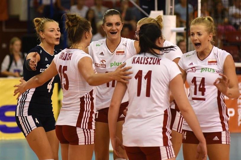 Polskie siatkarki są na dobrej drodze, żeby awansować na mistrzostwa Europy /www.cev.lu