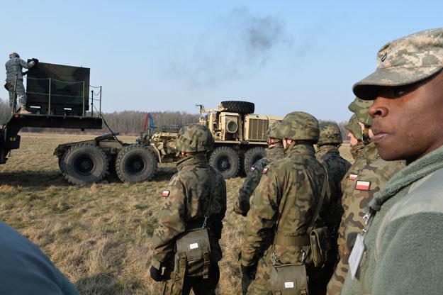 Polsko-amerykańskie ćwiczenia wojskowe w Sochaczewie /Wojtek Radwański /AFP