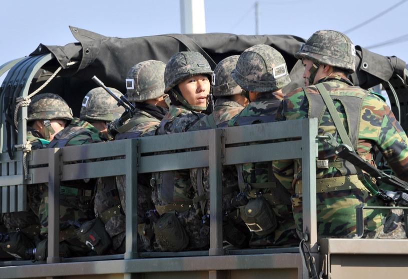 Południowokoreańscy żołnierze /AFP