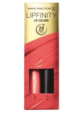 Pomadka Just Bewitching Lipfinity Max factor ok. 45 zł /Mat. Promocyjne