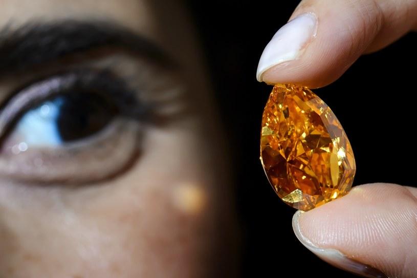 Pomarańczowy diament /AFP