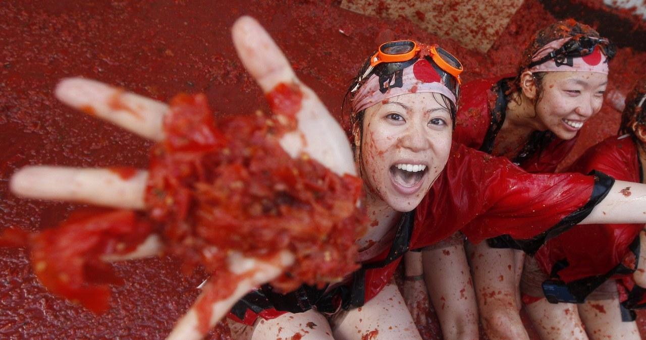 Pomidorowe szaleństwo w Hiszpanii