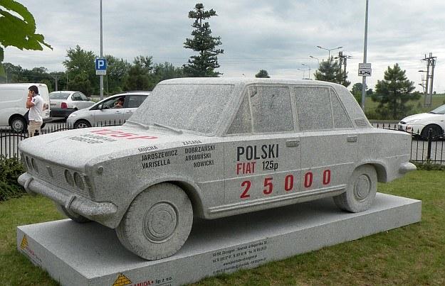 Pomnik (albo nagrobek) polskiej motoryzacji /INTERIA.PL