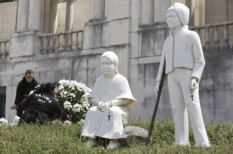 Pomnik Hiacynty i Franciszka w portugalskiej Fatimie /AP /East News