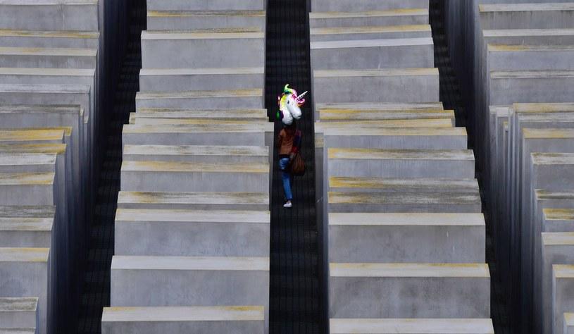 Pomnik Holokaustu w Berlinie /AFP