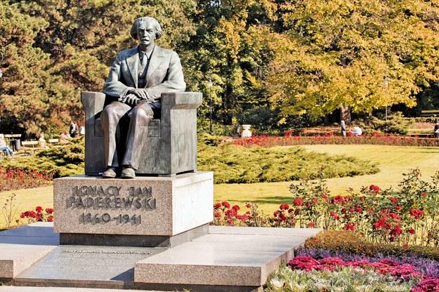 Pomnik Ignacego Jana Paderewskiego /123/RF PICSEL