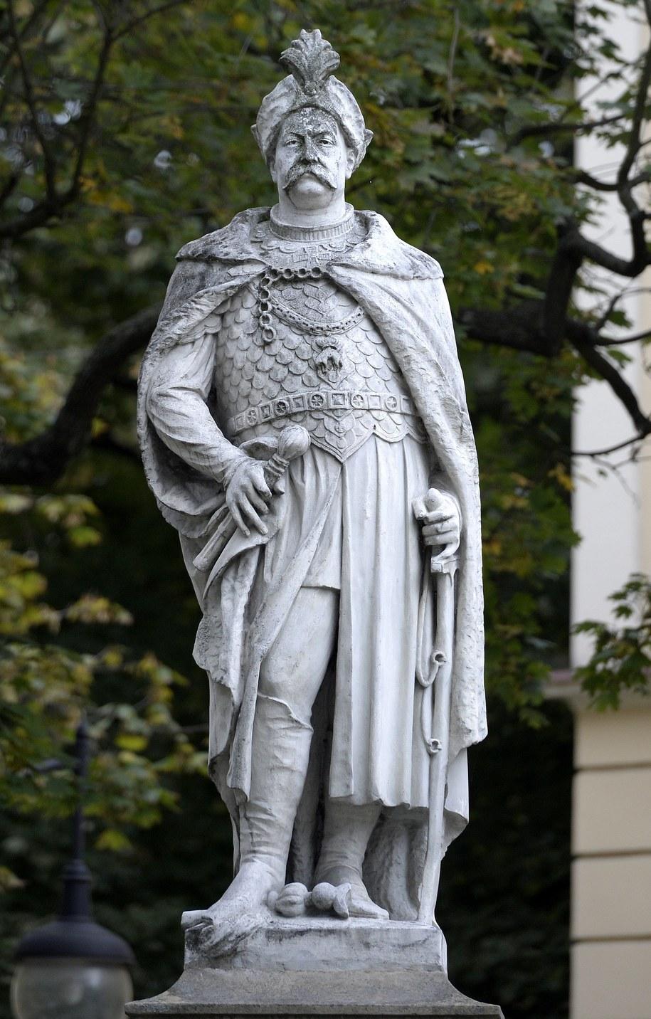 Pomnik Jana III Sobieskiego w Przemyślu / Darek Delmanowicz   (PAP) /PAP
