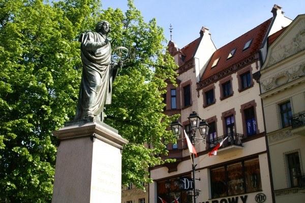 Pomnik Kopernika w Toruniu/fot. B. Czonkow /MWMedia