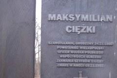 Pomnik Maksymiliana Ciężkiego w Szamotułach