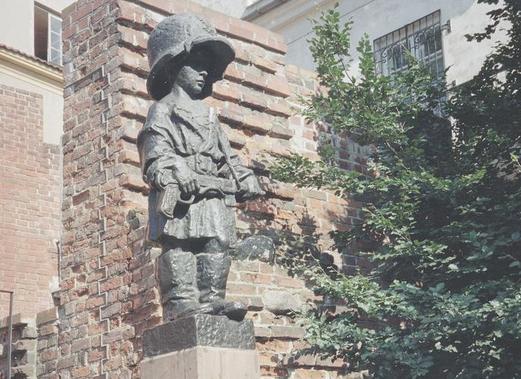 Pomnik Małego Powstańca w Warszawie /Z archiwum Narodowego Archiwum Cyfrowego