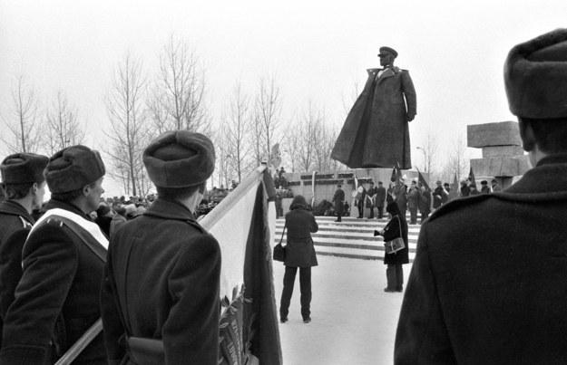 Pomnik marszałka Koniewa w Krakowie odsłonięto w 1987 r. /Romuald Broniarek /Agencja FORUM