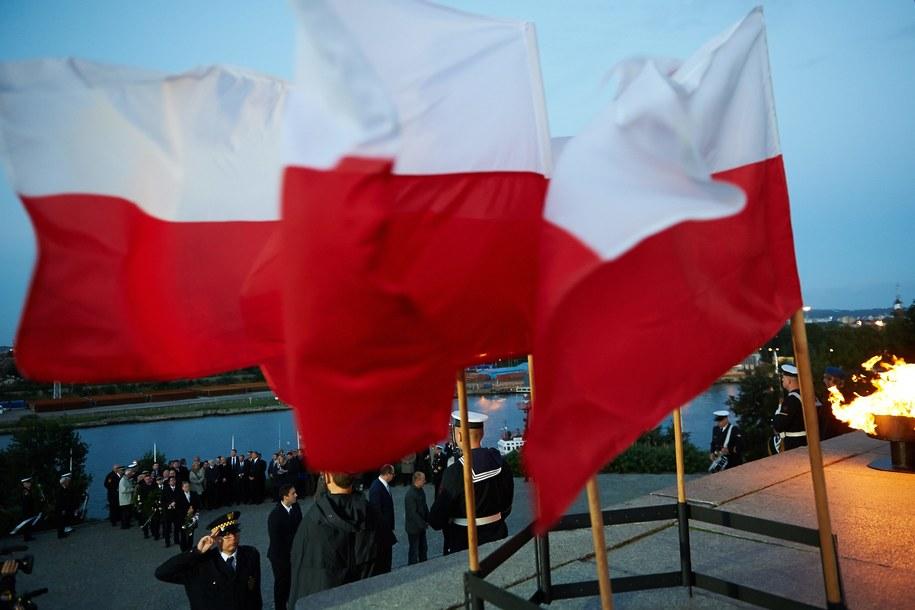 Pomnik Obrońców Wybrzeża na Westerplatte /Adam Warżawa /PAP